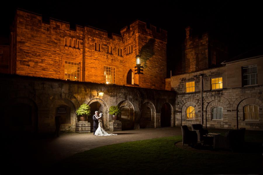 Hazlewood Castle Wedding