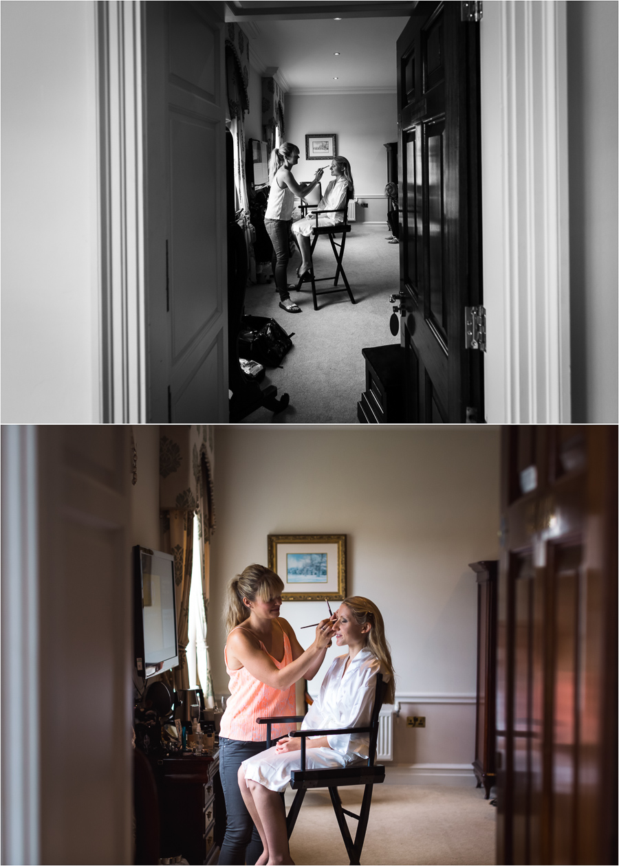 Denton Hall Wedding - bridal preparation