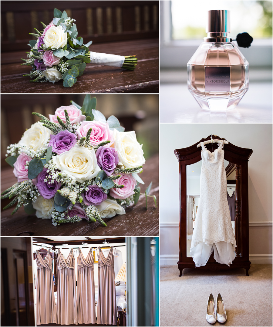 Denton Hall Wedding - bridal details