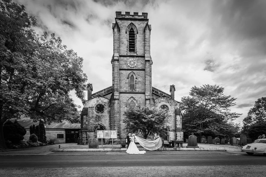Christ Church Wedding Ceremony in Harrogate