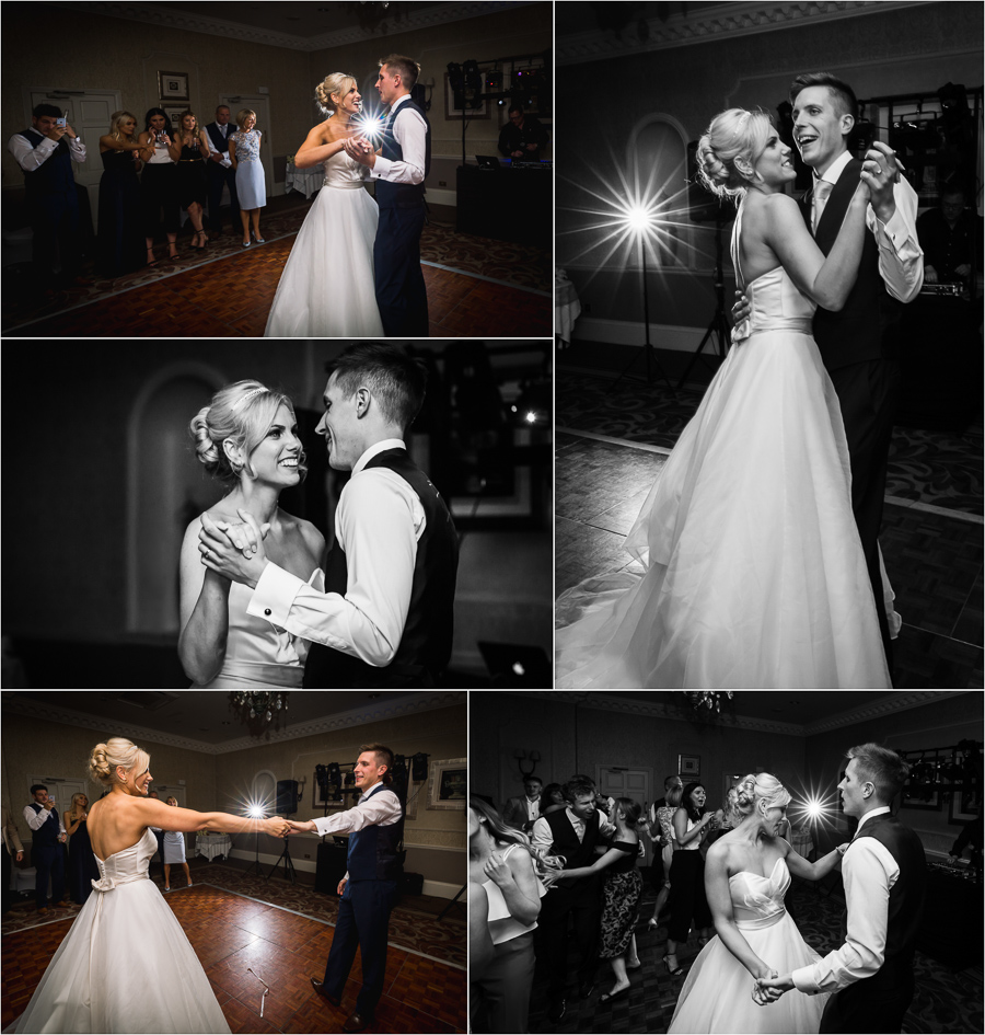 Wedding at Wood Hall - first dance
