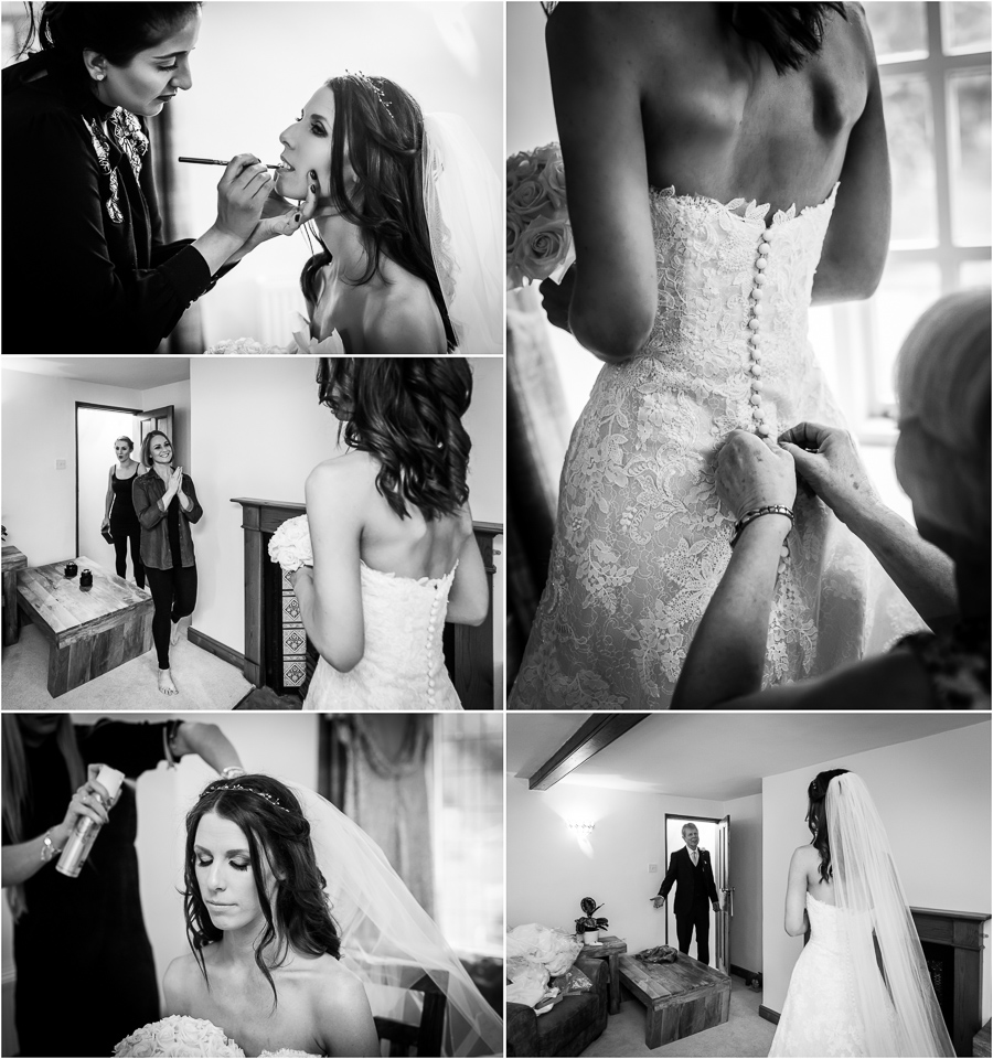 yorkshire wedding photographer - bridal prep