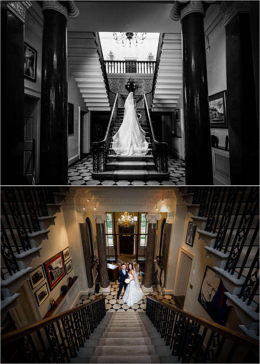 wedding photography at Bowcliffe Hall