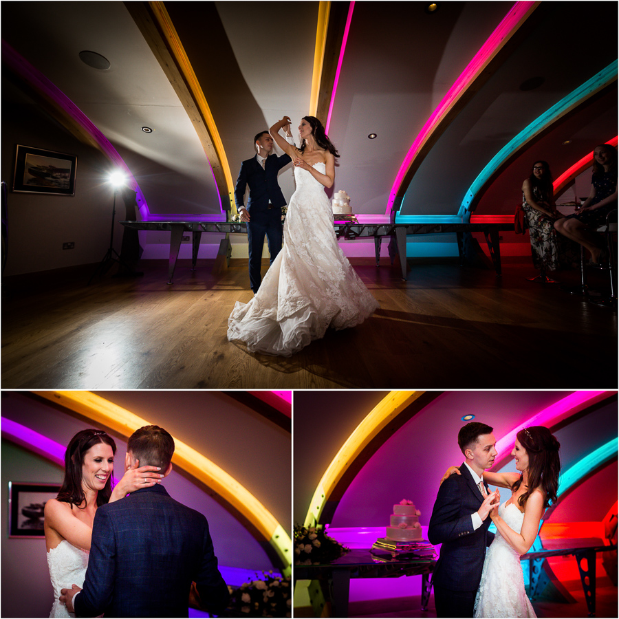yorkshire wedding photographer - first dance