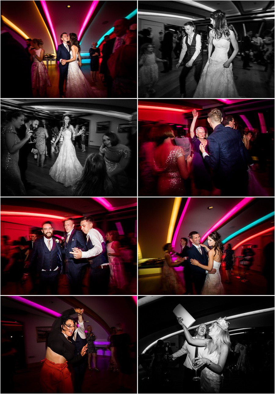 yorkshire wedding photographer - guests dancing