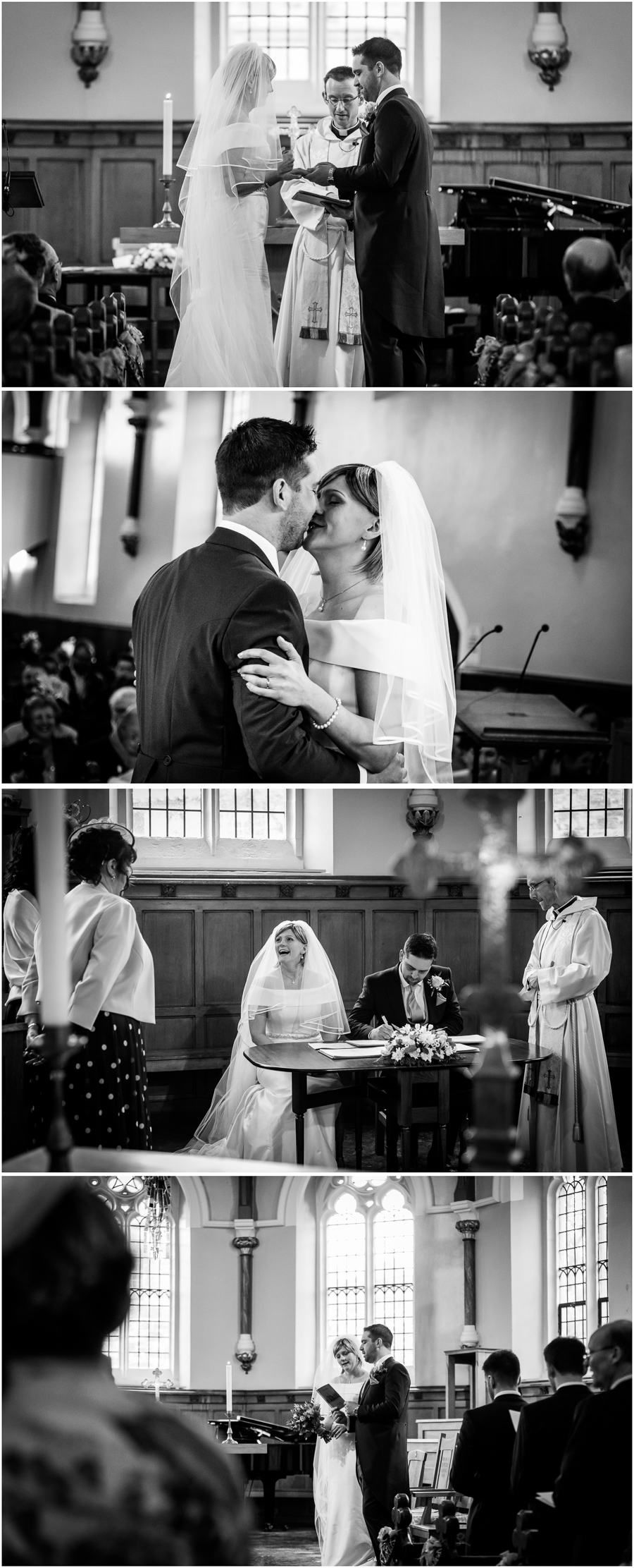 York wedding - St Peters School chapel ceremony