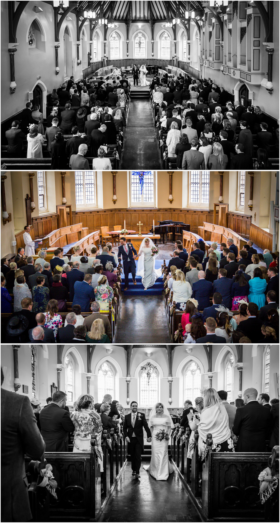 York wedding photographer- St Peter's school chapel ceremony