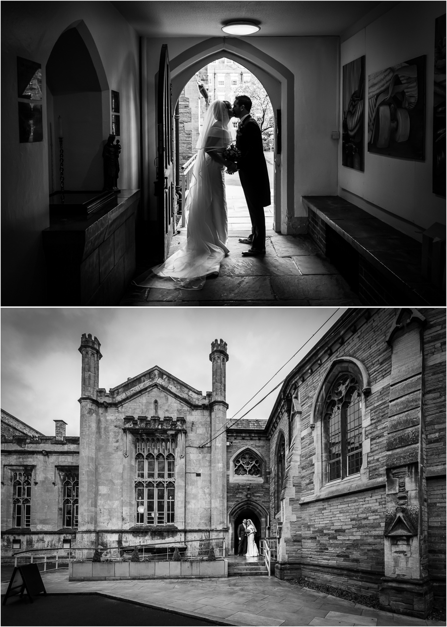 Yorkshire Wedding Photography - St Peters school chapel wedding