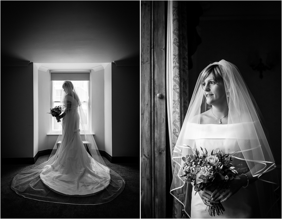 yorkshire wedding photographer - bride portraits
