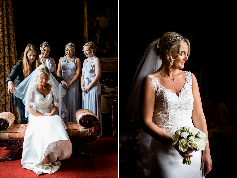 Allerton Castle Wedding Photography - Bridal Preparations