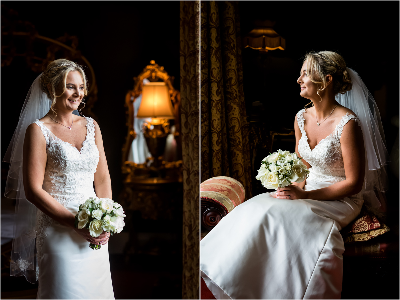 Allerton Castle Wedding Photography - Bridal Portraits