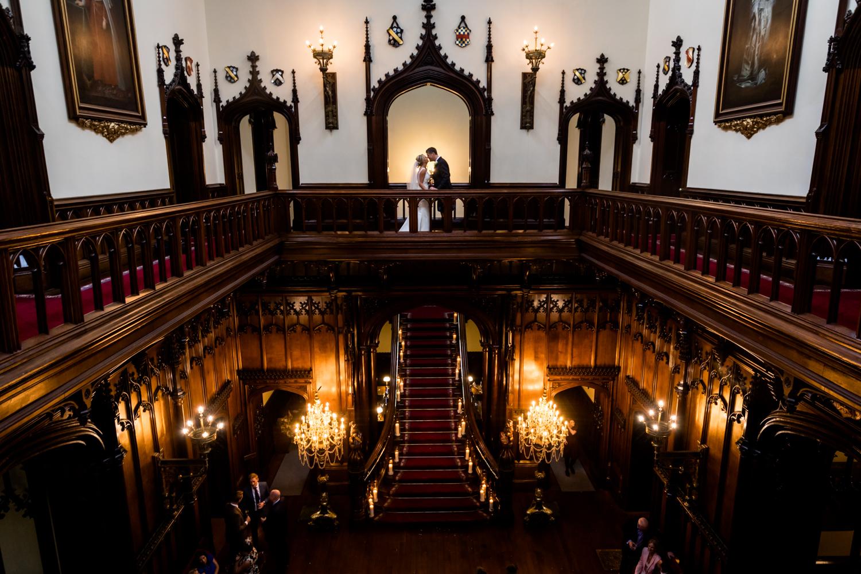 Allerton Castle Wedding Photography - couple portrait