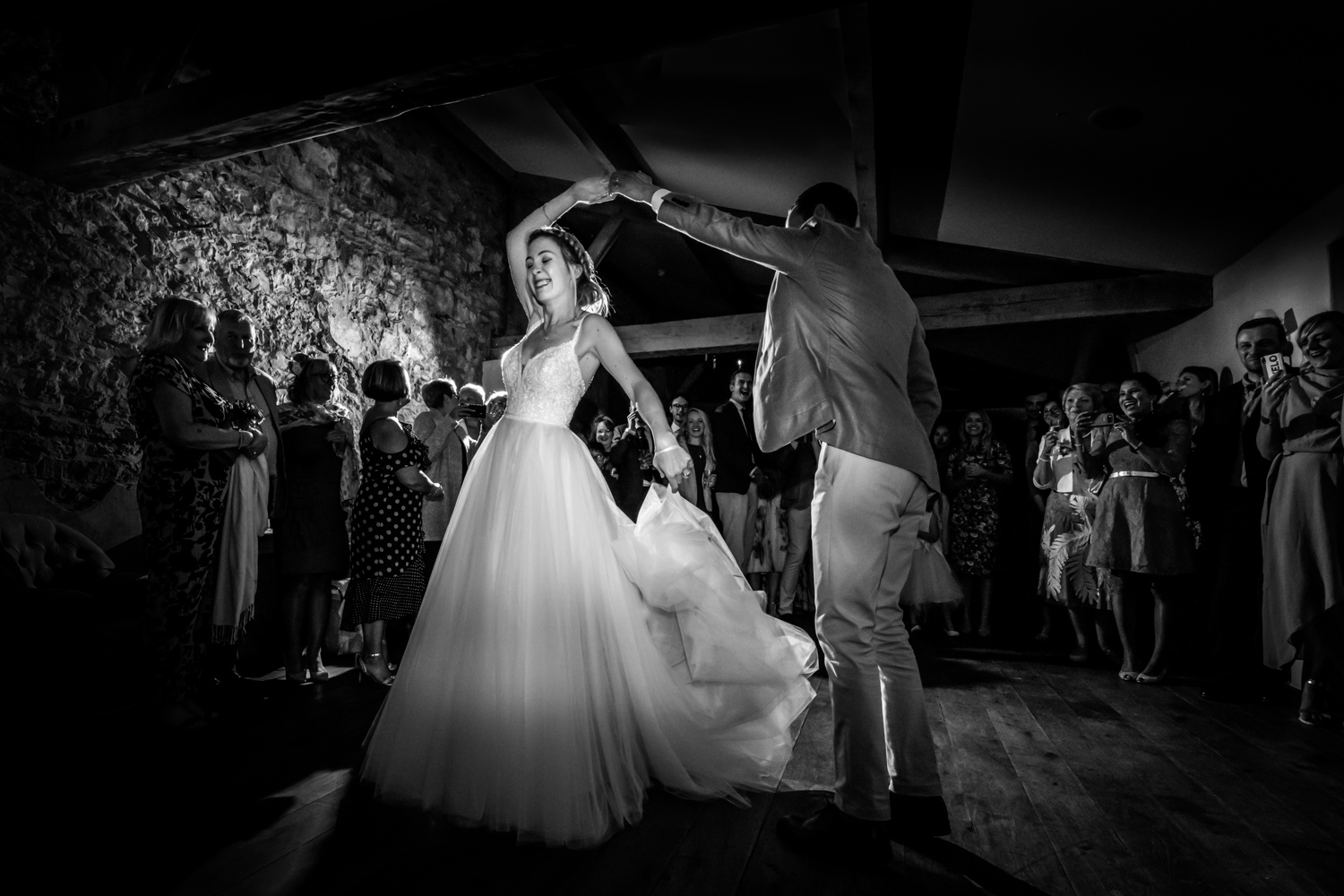 Middleton Lodge Wedding Photography - first dance