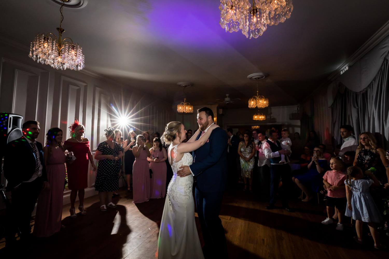 Dunedin House Wedding Photography - first dance
